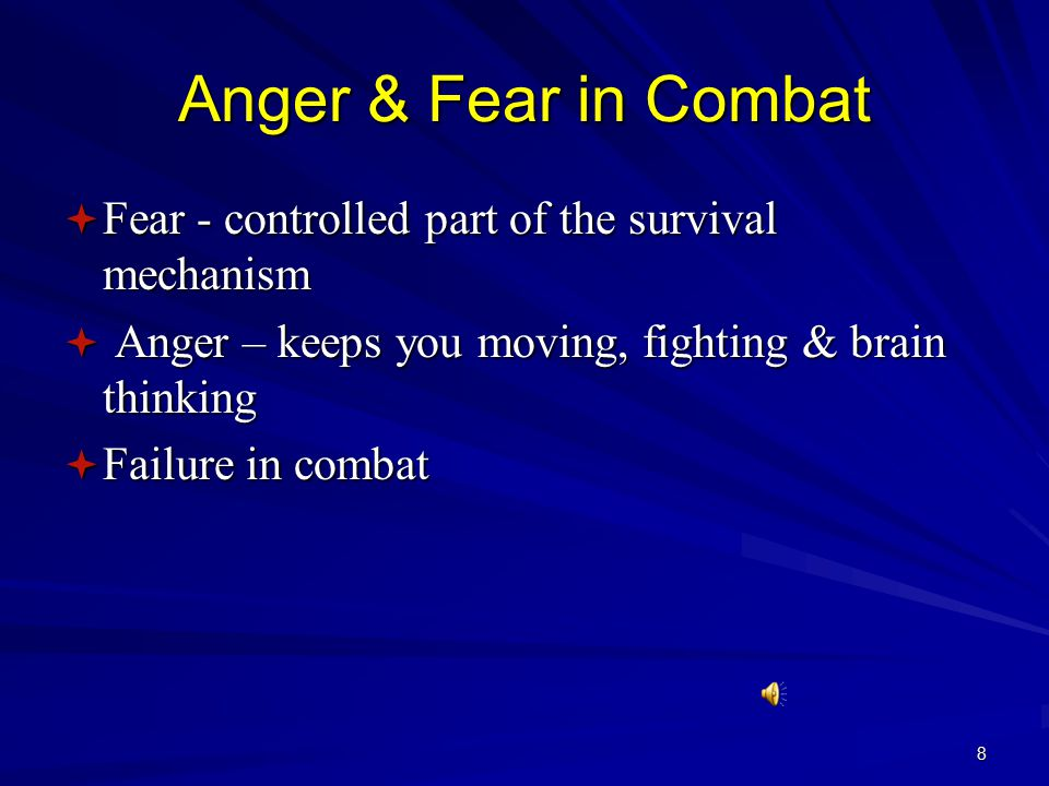 Threat Assessment: Danger signs  Body Language – pre attack postures  Opening and closing the fists  Shoulder shift  Muscular tension in the face or shoulders  Boxers/fighting stance  Exaggerated motion