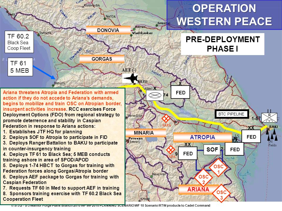 I:\S-3\2 - S-3 Warrior Forge Plans Branch\2010 WF\WF2010 PLANNING SCENARIO\WF 10 Scenario\RTW products to Cadet Command B-C PIPELINE US UNITS BTC PIPE