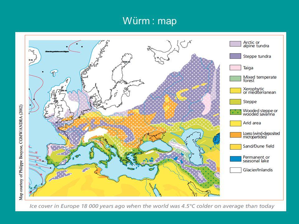 Würm : map