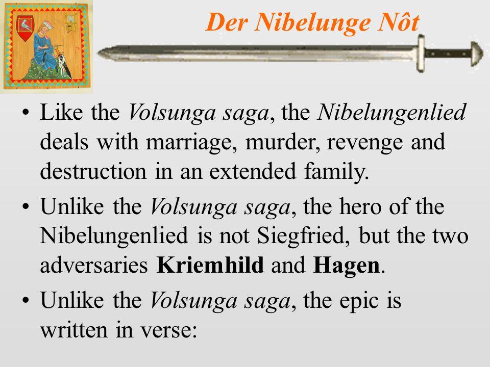 Der Nibelunge Nôt 10 Siegfried and Kriemhild enjoy each other's affections on their wedding night.