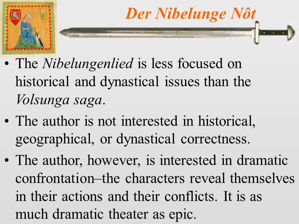 Der Nibelunge Nôt 12 Brunhild has Gunther invite Siegfried and Kriemhild to Worms.