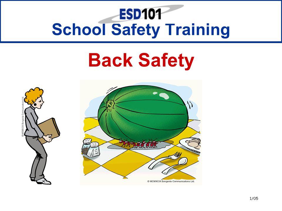1/05 School Safety Training Back Safety