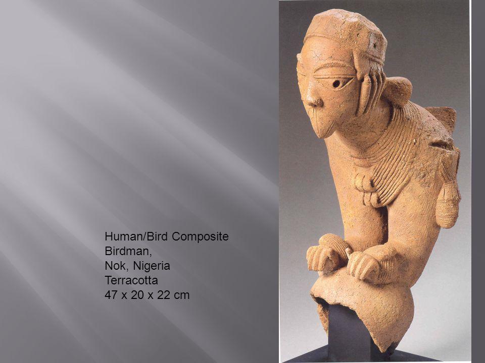 Human/Bird Composite Birdman, Nok, Nigeria Terracotta 47 x 20 x 22 cm
