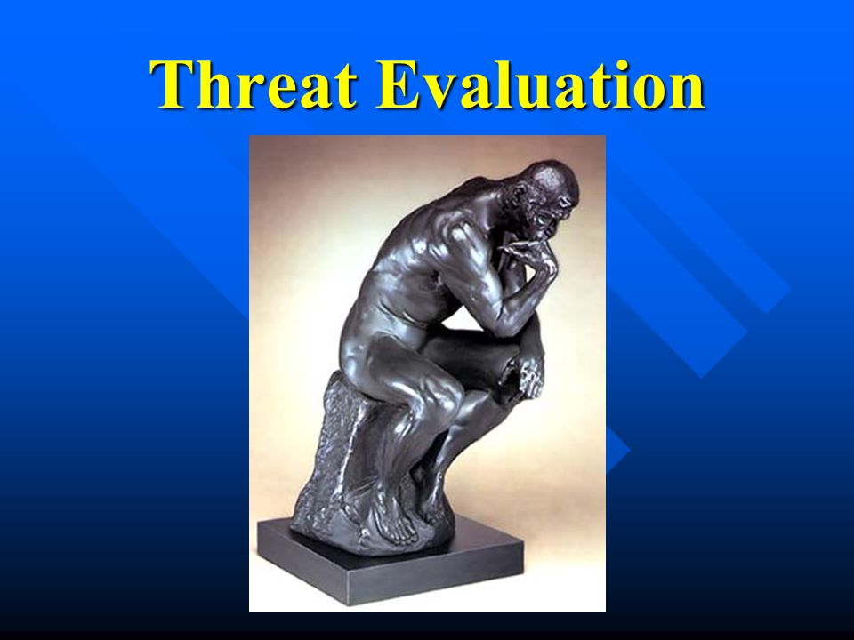 Threat Evaluation