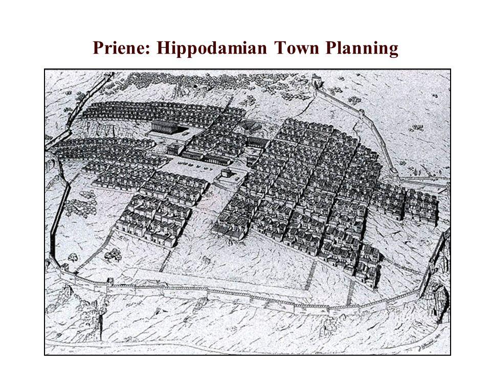 Priene: Hippodamian Town Planning