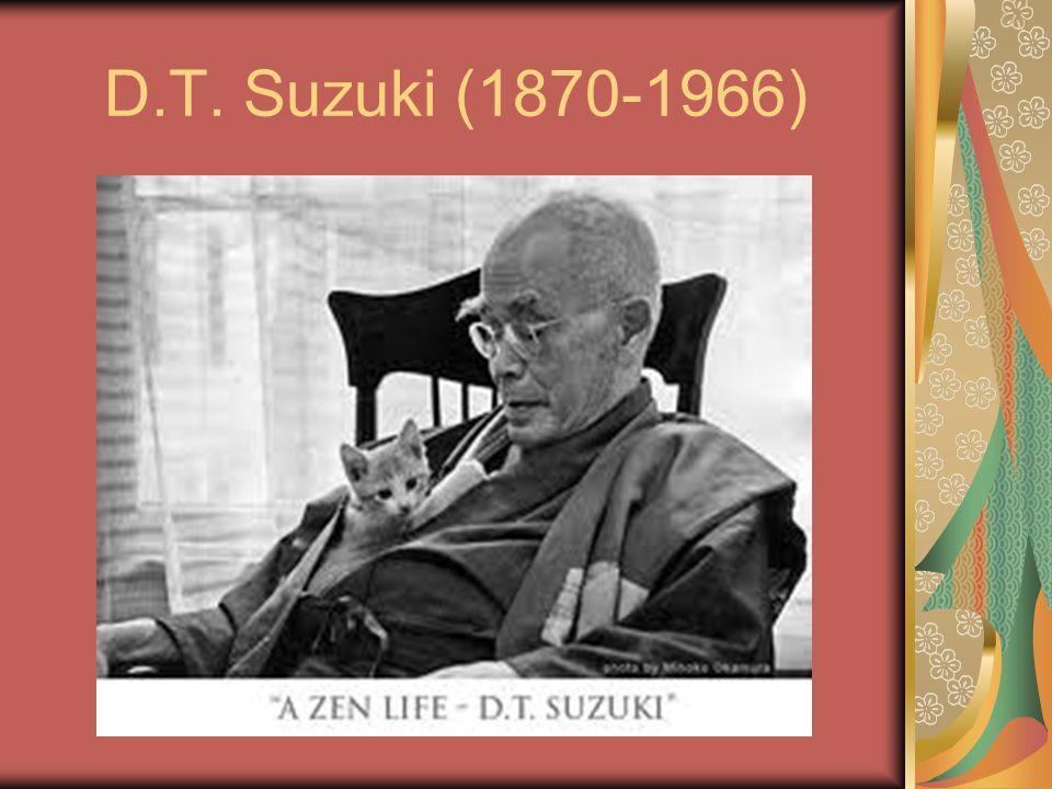 D.T. Suzuki (1870-1966)