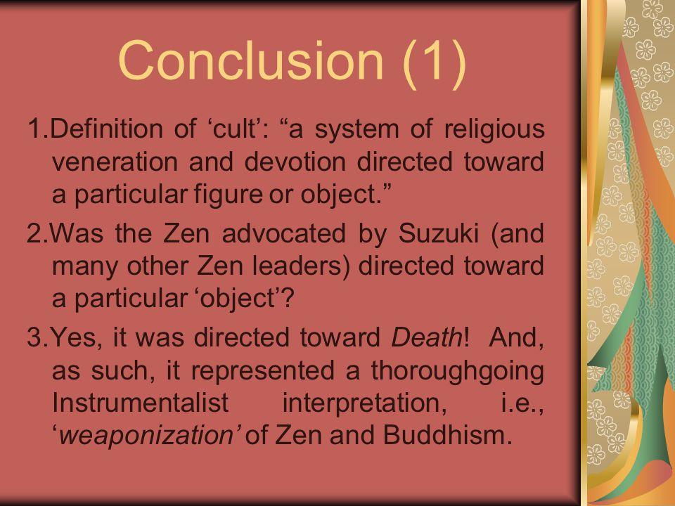 Conclusion (1) 1.