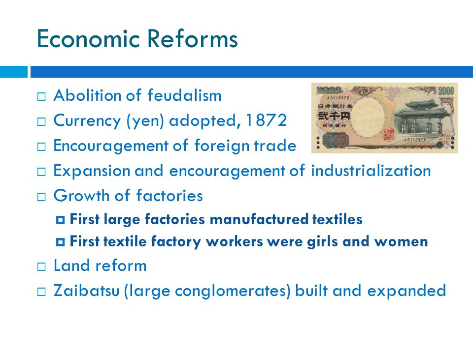 Review Questions  How did the government of Japan change during the Meiji restoration.