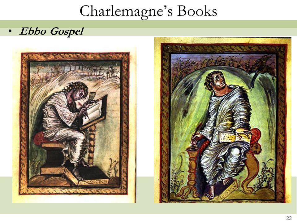 22 Charlemagne's Books Ebbo Gospel