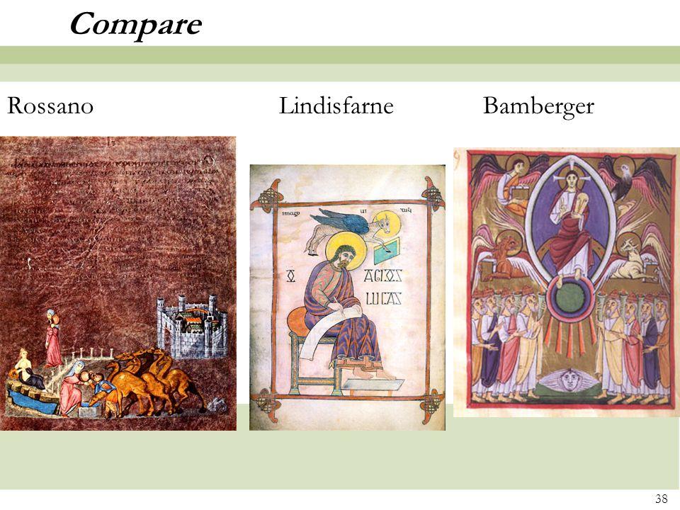38 Compare RossanoLindisfarneBamberger