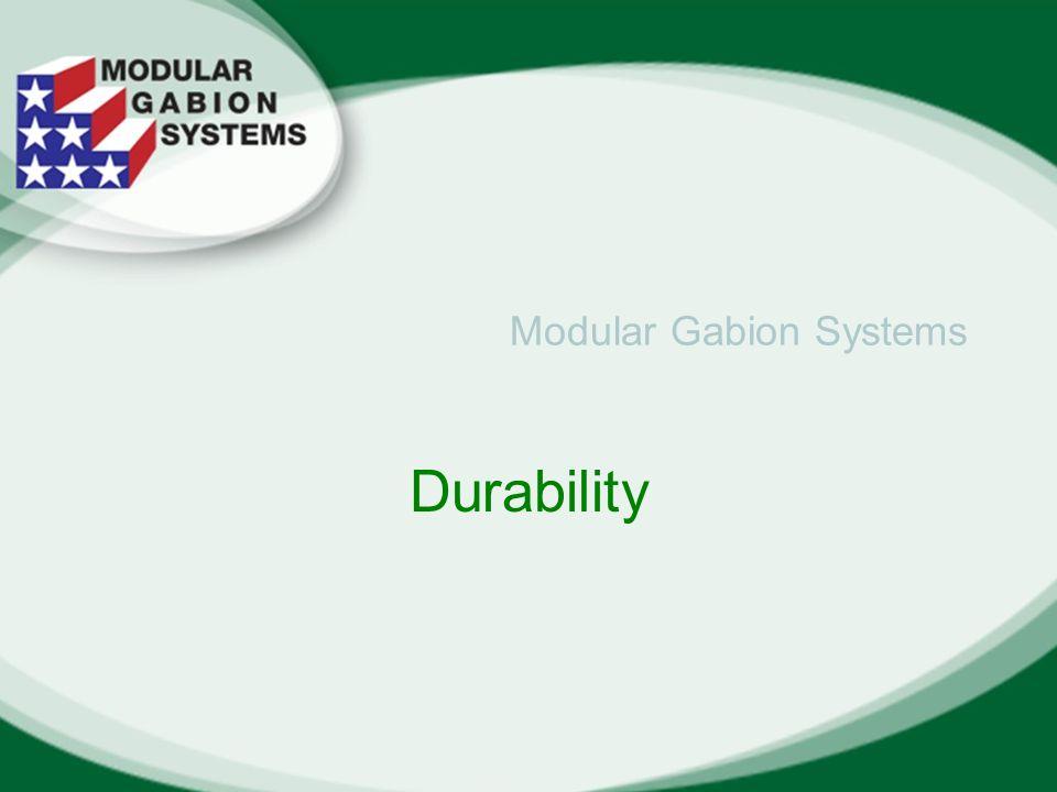 Modular Gabion Systems Durability