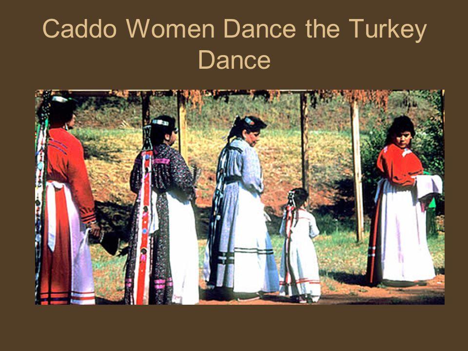 Caddo Women Dance the Turkey Dance