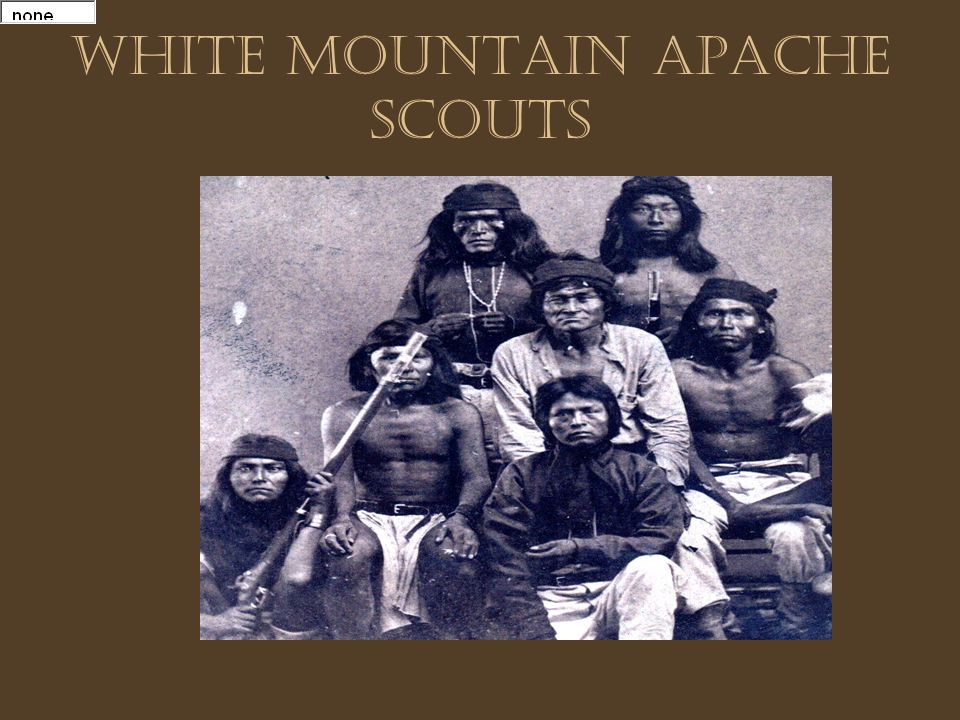 White Mountain Apache Scouts