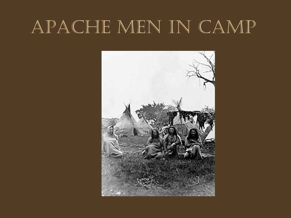 Apache Men in Camp