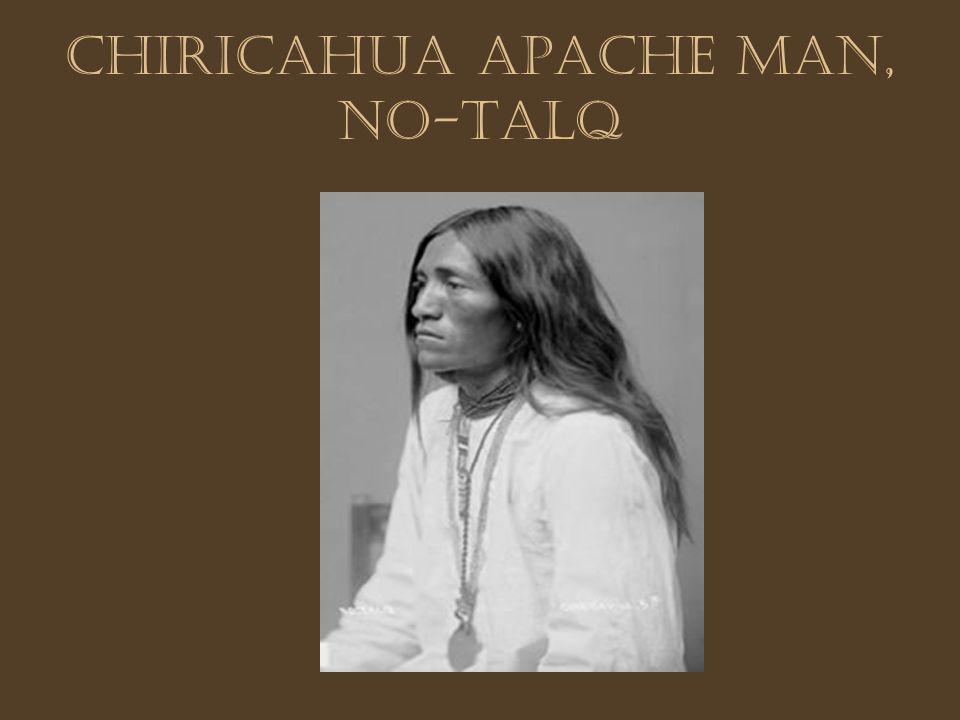 Chiricahua Apache man, No-talq