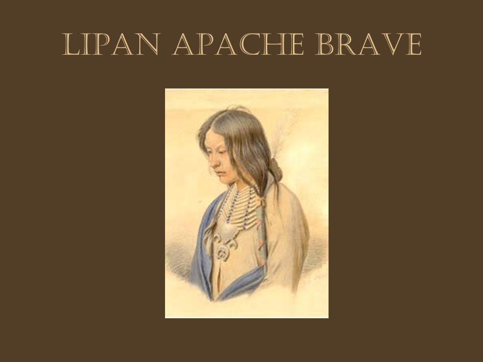 Lipan Apache brave