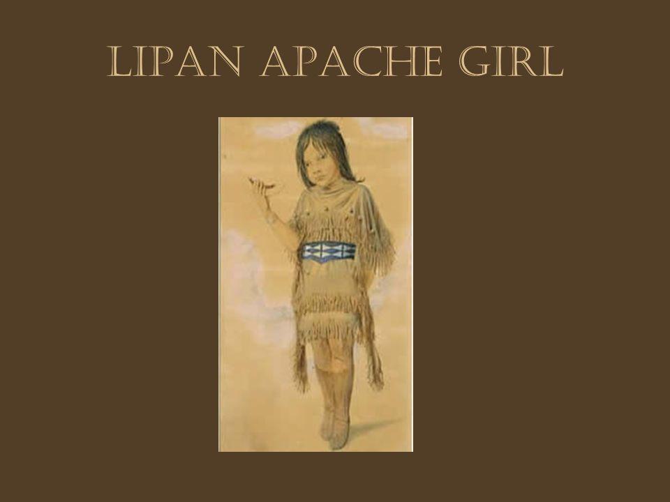 Lipan Apache girl