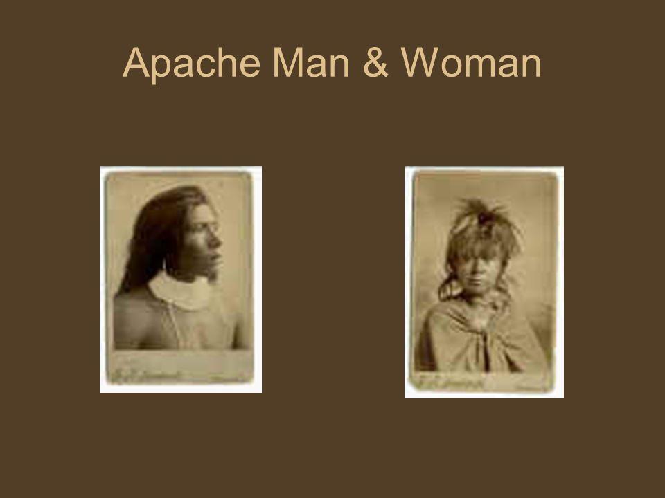 Apache Man & Woman