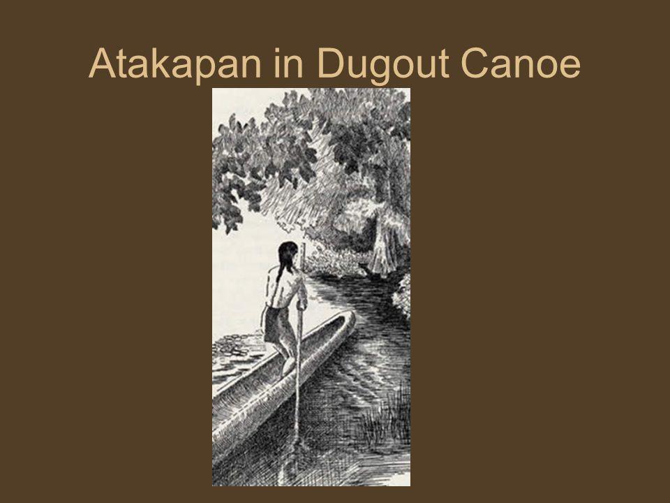 Atakapan in Dugout Canoe