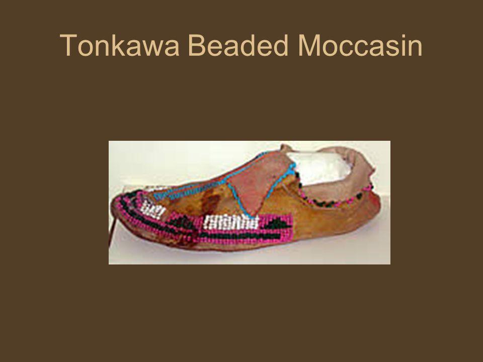 Tonkawa Beaded Moccasin