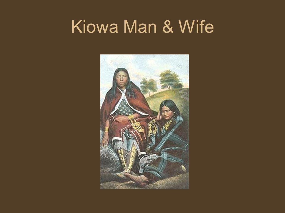 Kiowa Man & Wife