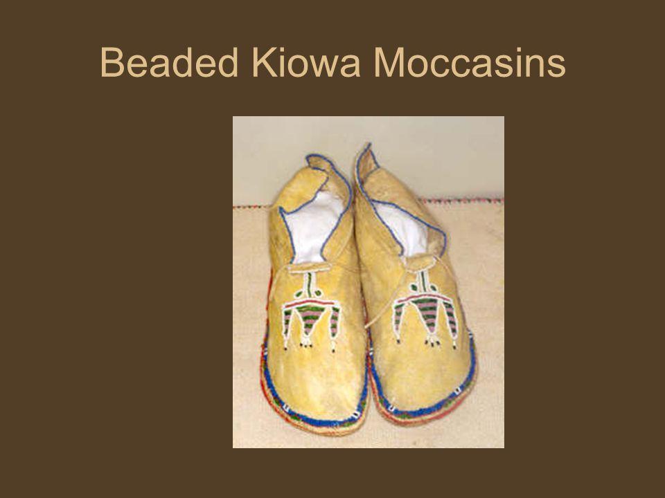 Beaded Kiowa Moccasins