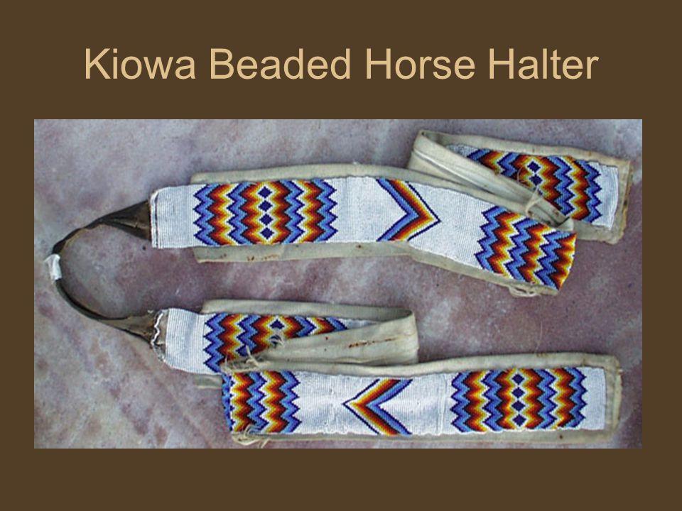 Kiowa Beaded Horse Halter