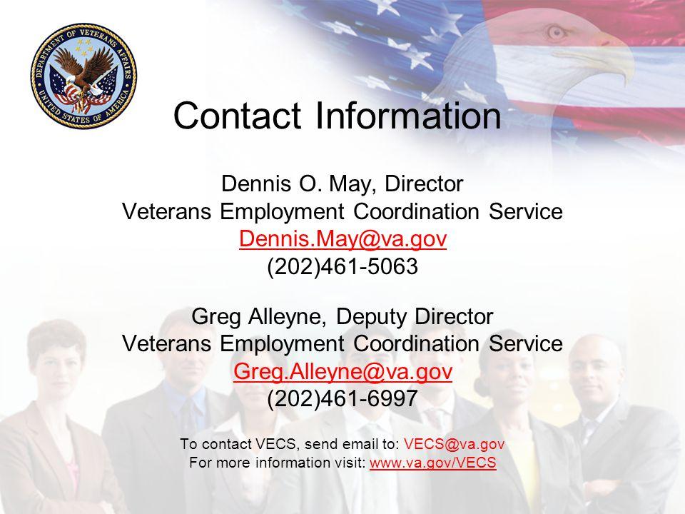 Contact Information Dennis O.