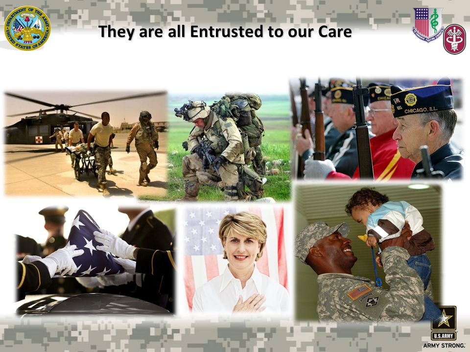 They are all Entrusted to our Care
