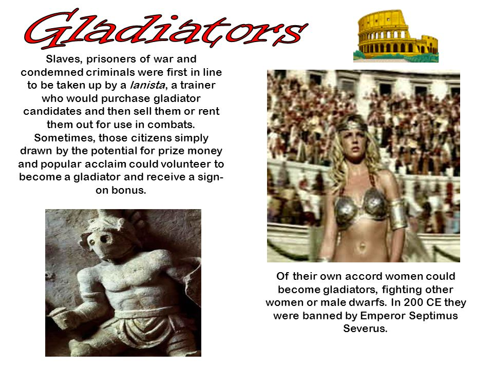 Gladiators-in-training started out with wooden swords to do battle with a wooden pole called a palus, then moved on to a straw dummy before practicing footwork, thrusts and feints on fellow trainees.