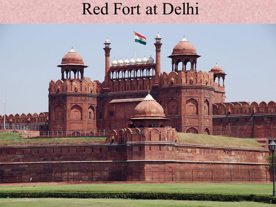 Red Fort at Delhi