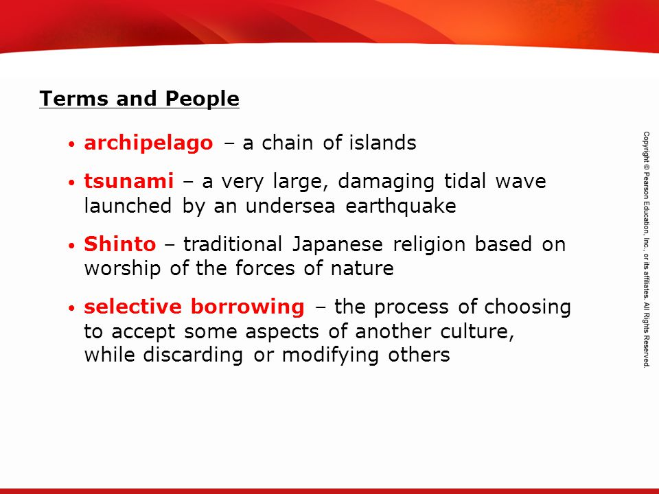 TEKS 8C: Calculate percent composition and empirical and molecular formulas. Terms and People archipelago – a chain of islands tsunami – a very large,