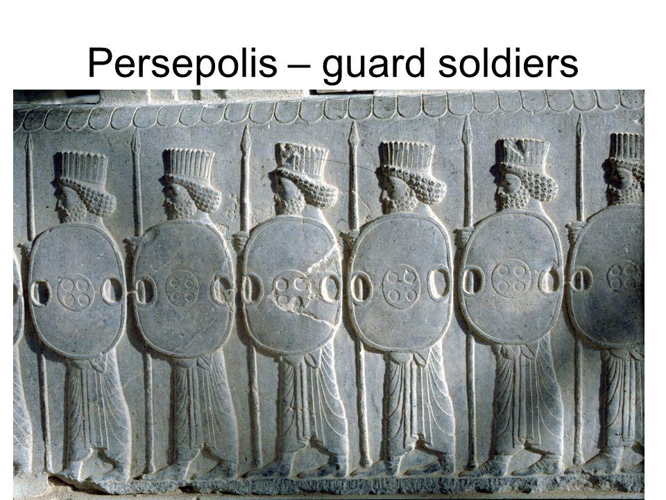 Persepolis – guard soldiers