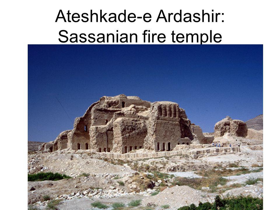 Ateshkade-e Ardashir: Sassanian fire temple