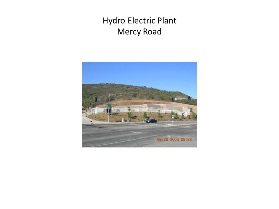 Hydro Electric Plant Mercy Road