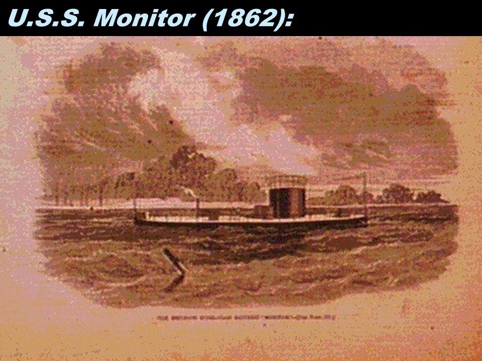 U.S.S. Monitor (1862):