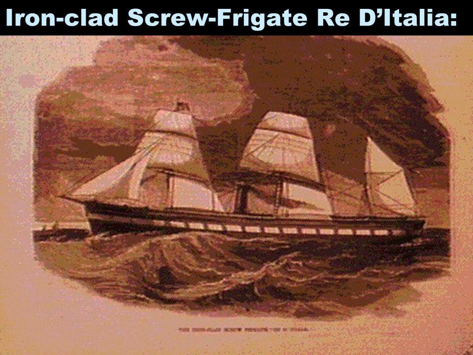 Iron-clad Screw-Frigate Re D'Italia: