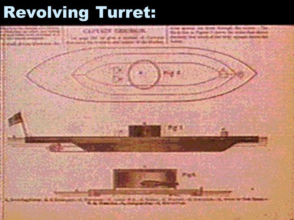 Revolving Turret: