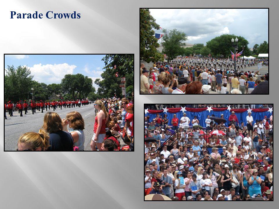 Parade Crowds