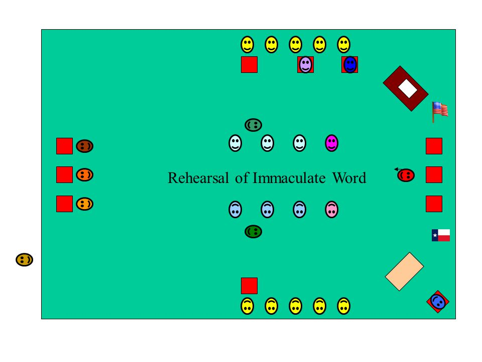 Rehearsal of Immaculate Word