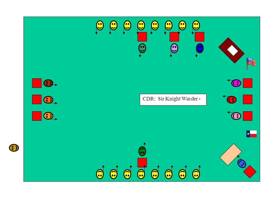 CDR: Sir Knight Warder -