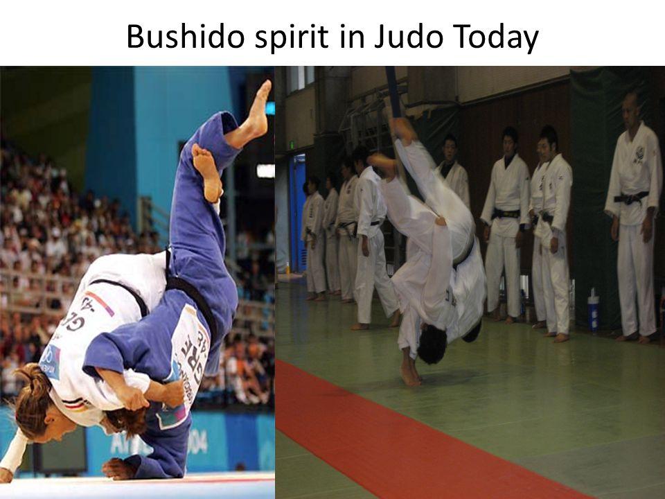 Bushido spirit in Judo Today
