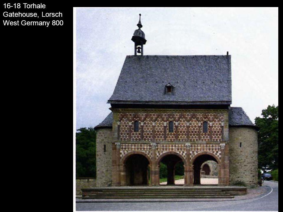 16-18 Torhale Gatehouse, Lorsch West Germany 800