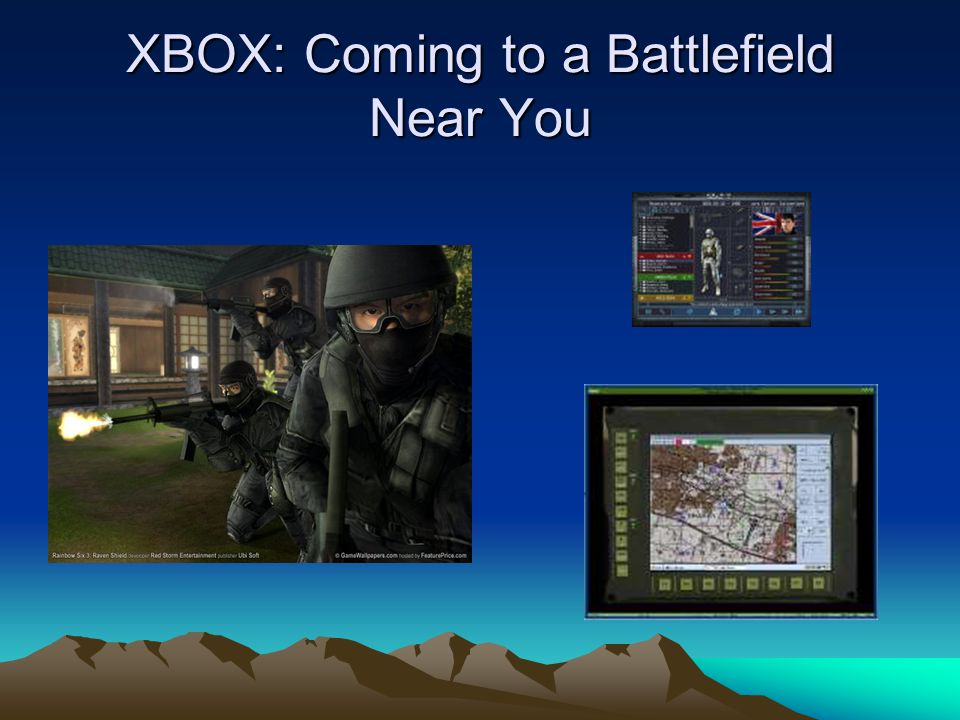 XBOX: Coming to a Battlefield Near You