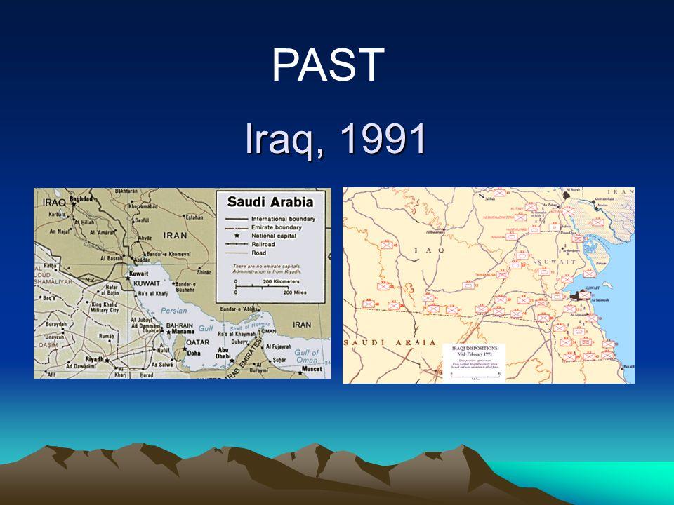 Iraq, 1991 PAST