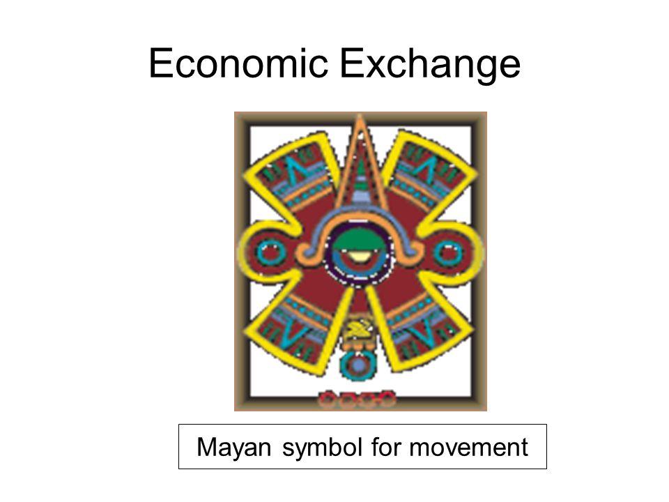 Economic Exchange Mayan symbol for movement