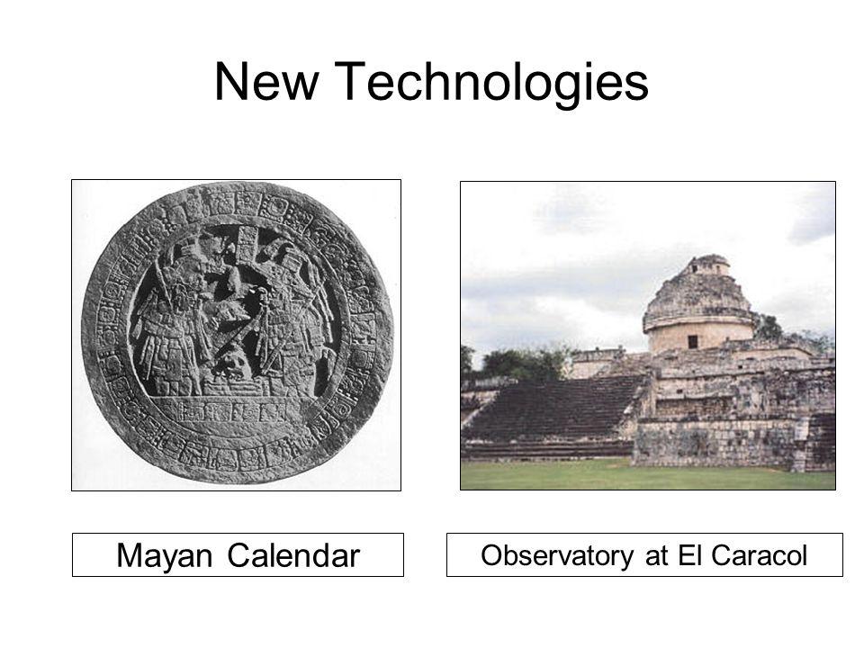 New Technologies Mayan Calendar Observatory at El Caracol
