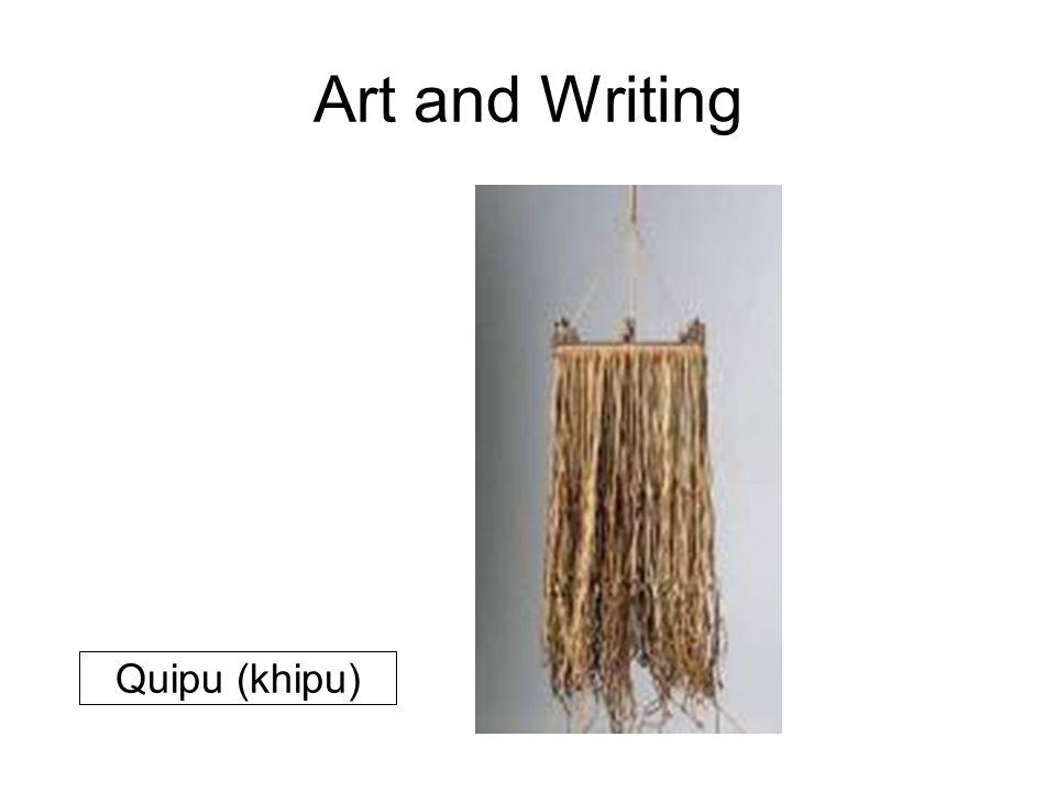 Art and Writing Quipu (khipu)