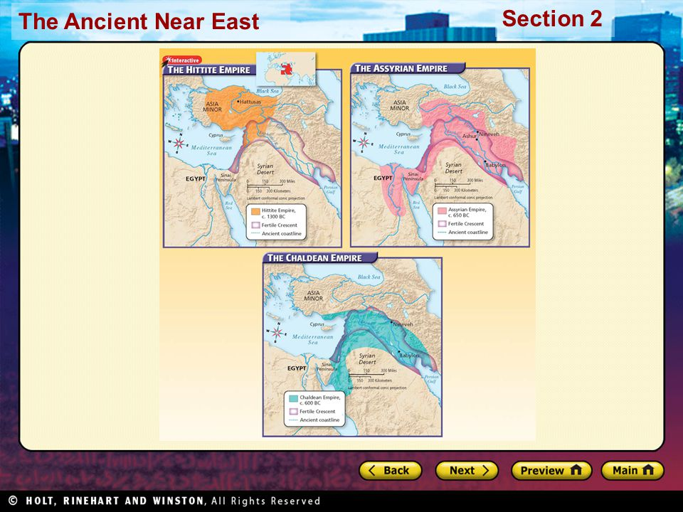 The Ancient Near East Section 2