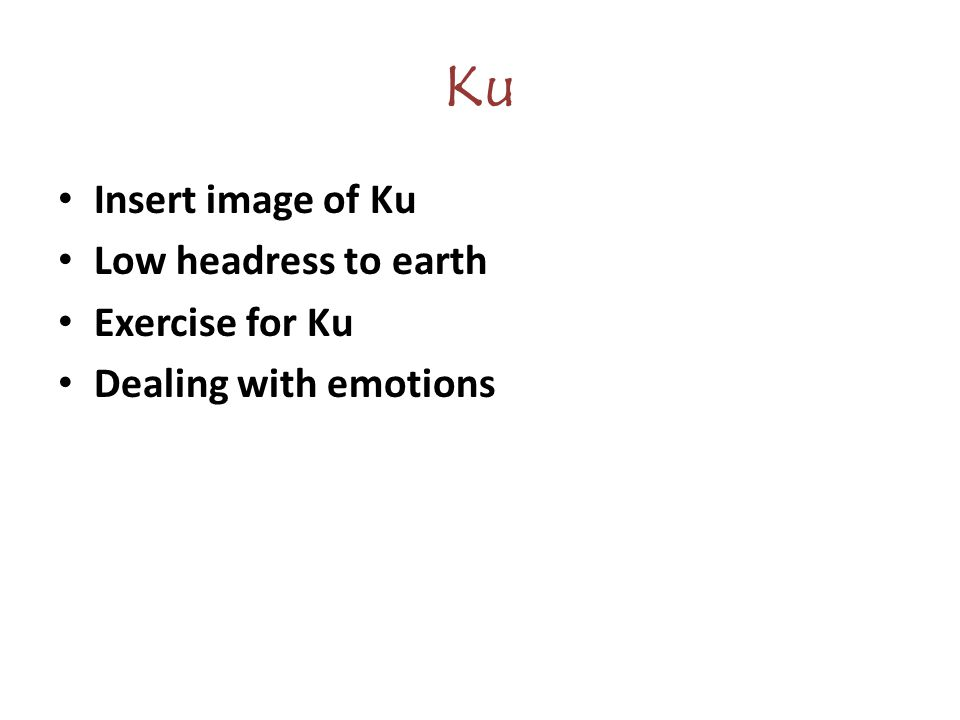 Ku Insert image of Ku Low headress to earth Exercise for Ku Dealing with emotions